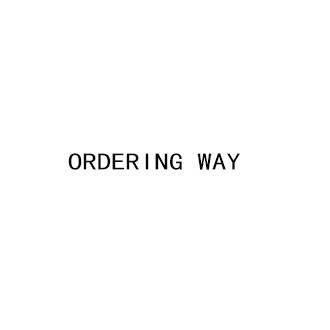 Ordering Way
